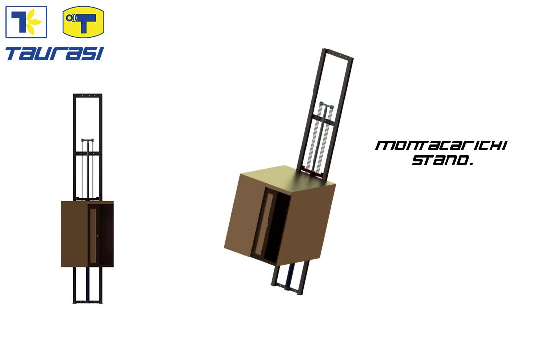 Montacarichi -Piattaforme elev. per cose
